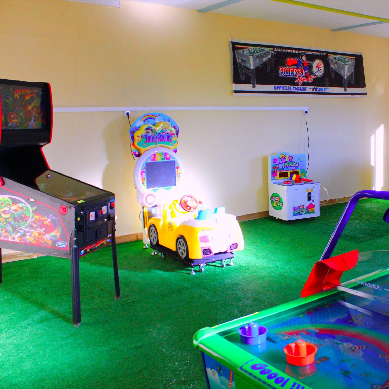 Salle de jeux voiture